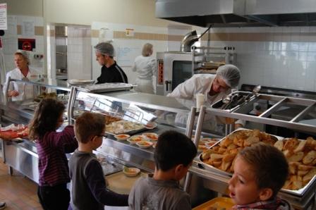 Agent de service dans une cantine scolaire for Diplome restauration collective