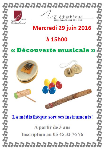 découverte musicla affiche