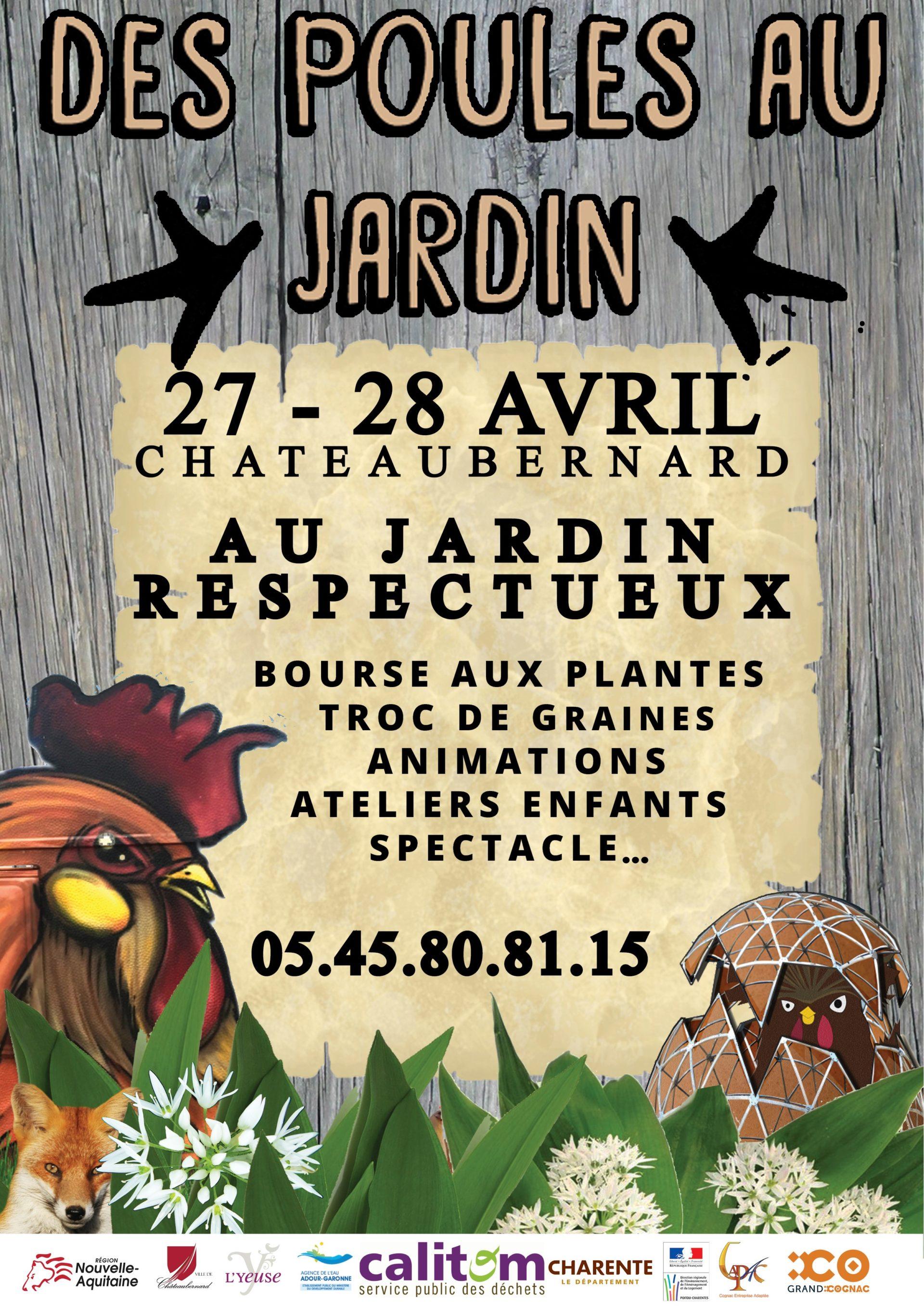 Calitom Calendrier 2019.Des Poules Au Jardin Edition 2019 Ville De Chateaubernard